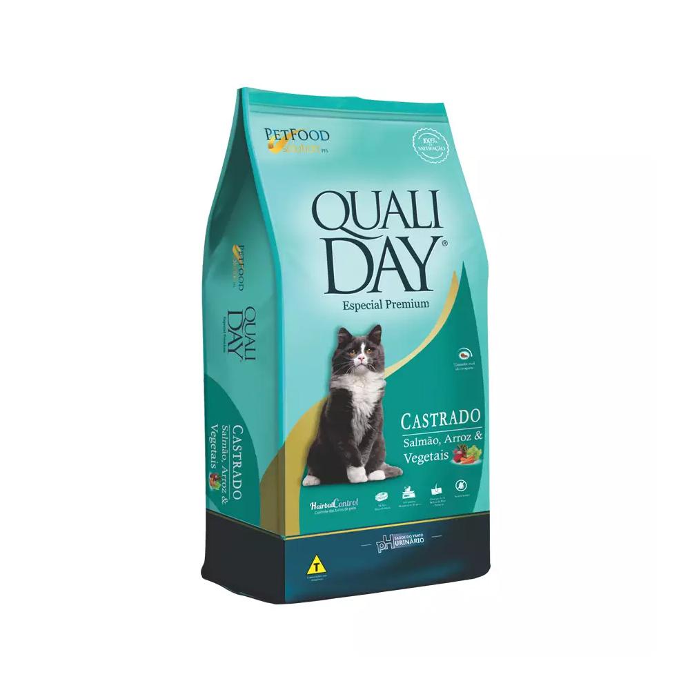 QUALIDAY CAT CASTRADO SALMÃO 1KG