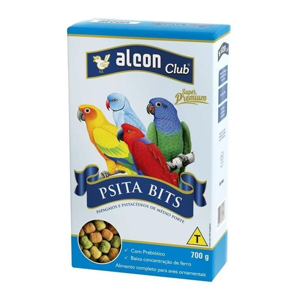 Ração Alcon Club Psita Bits para Papagaios e Psitacídeos 700g