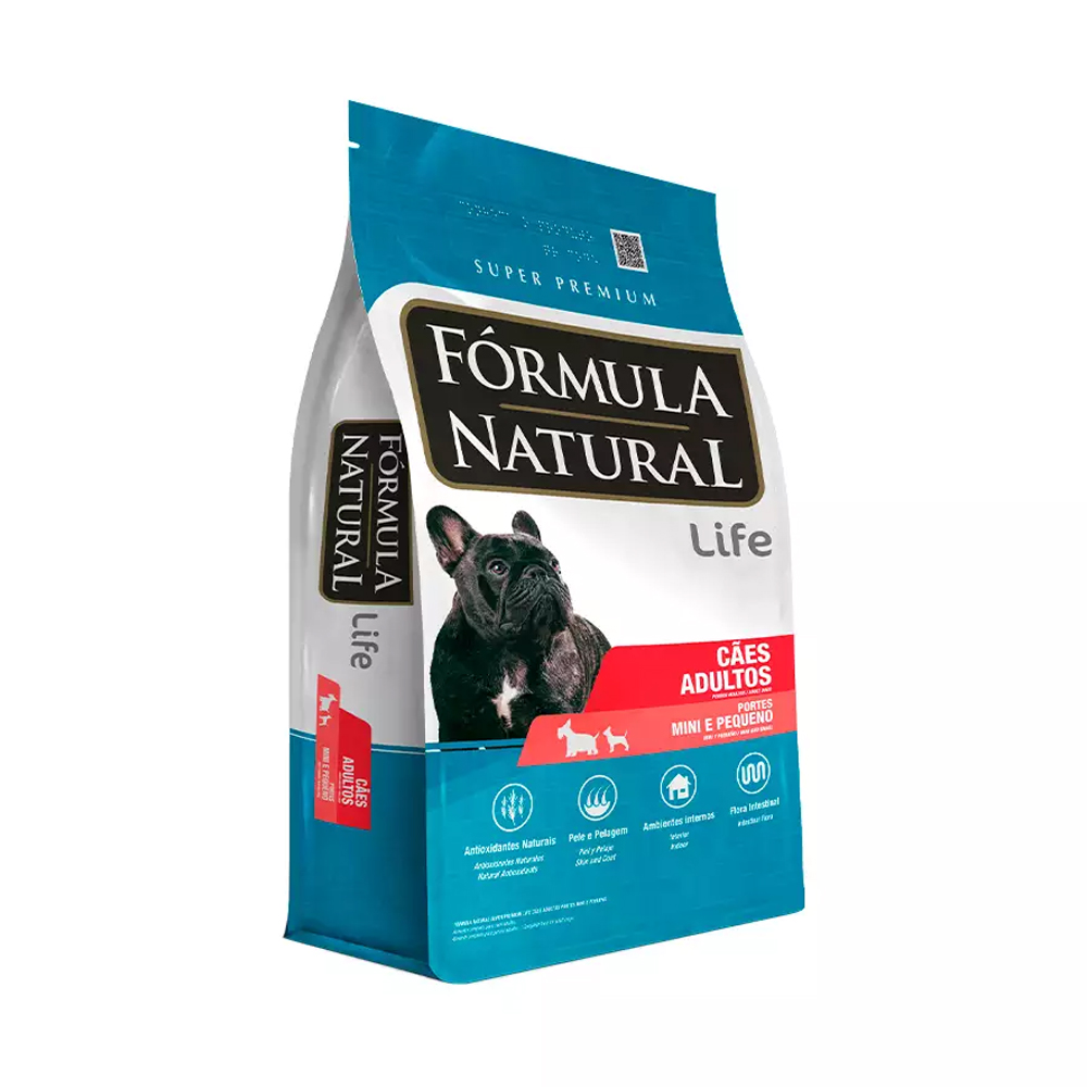 Ração Fórmula Natural para Cães Adultos Mini e Pequeno Porte 2,5kg