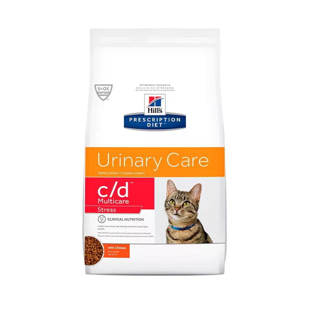 Ração Hills Prescription Diet Urinary Care c/d Multicare Stress para Gatos Adultos 3,85kg
