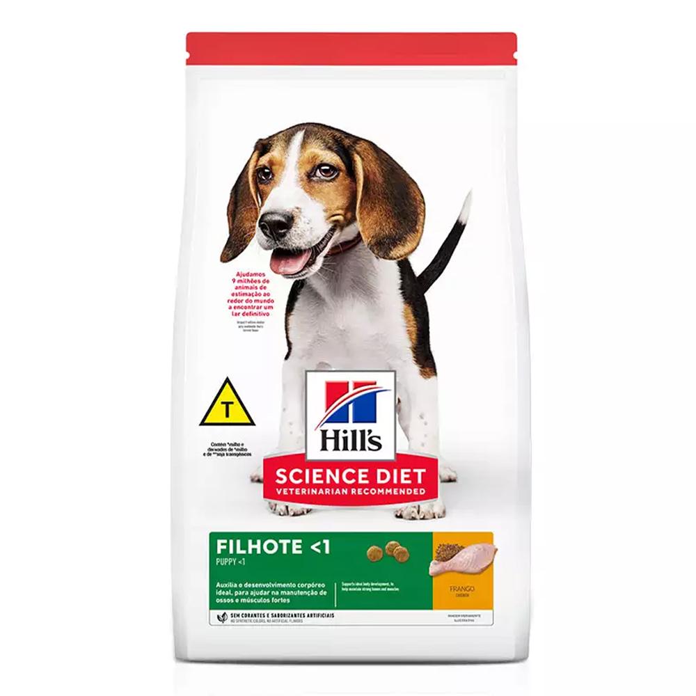 Ração Hills Science Diet para Cães Filhotes de Pequeno e Médio Porte 7,5kg