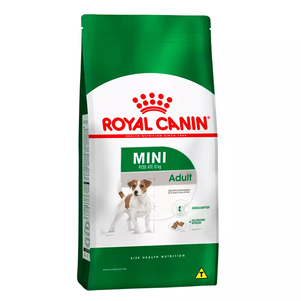 Ração Royal Canin Mini Cães Adultos 7,5kg