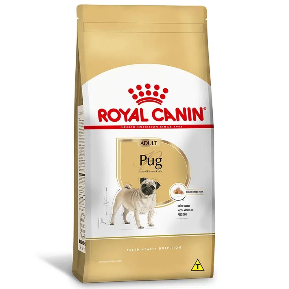 Ração Royal Canin Pug Cães Adultos 7,5kg