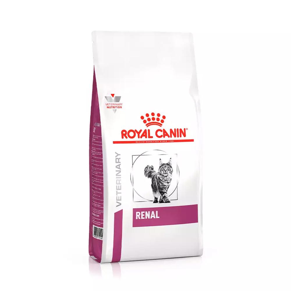 Ração Royal Canin Veterinary Renal para Gatos Adultos 1,5kg