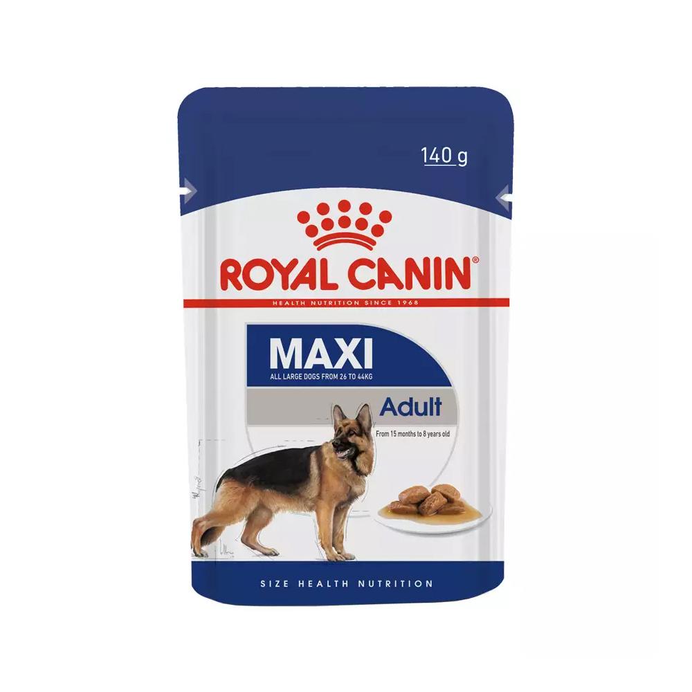 Ração Úmida Royal Canin Sachê para Cães Maxi Adulto 140g