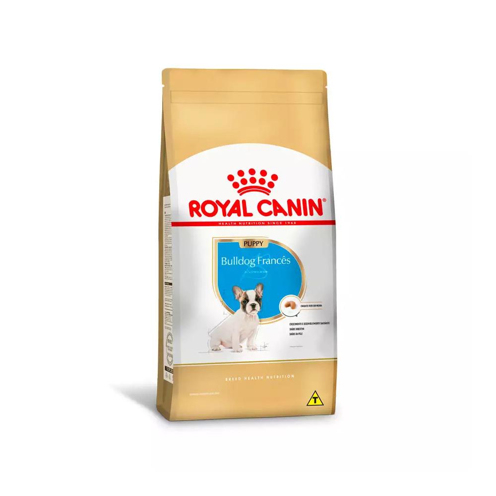 Ração Royal Canin Bulldog Francês para Cães Filhotes 1kg