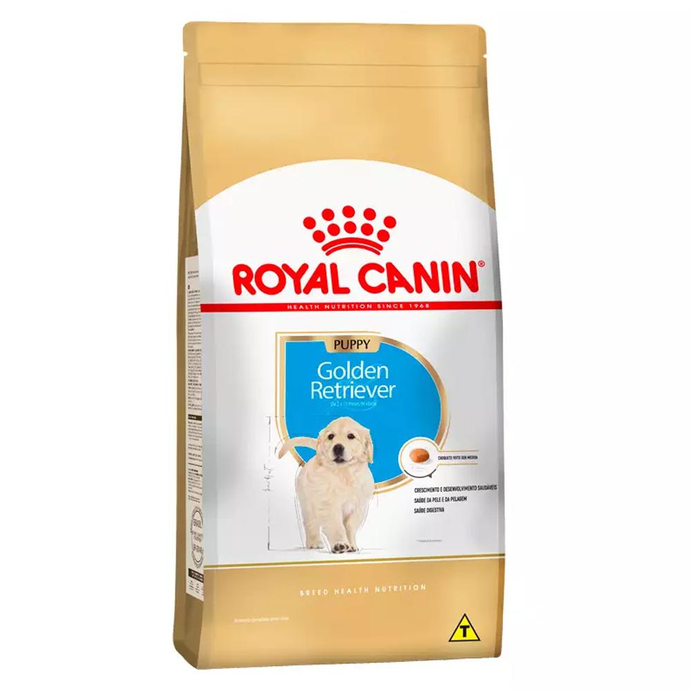 Ração Royal Canin Golden Retriever para Cães Filhotes 12kg