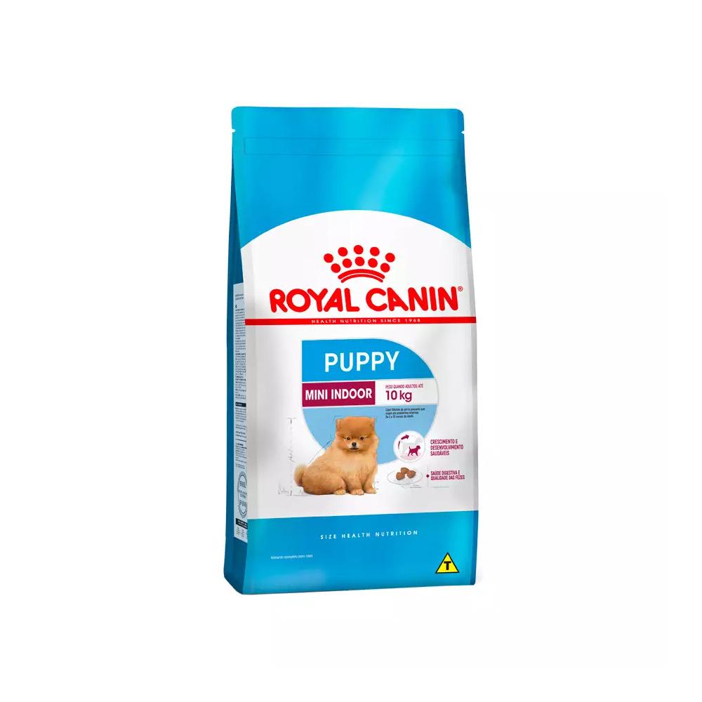 Ração Royal Canin Mini Indoor para Cães Filhotes 1kg