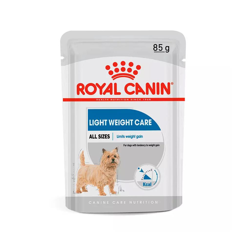 Ração Úmida Royal Canin Sachê Light Weight Care para Cães Adultos 85g