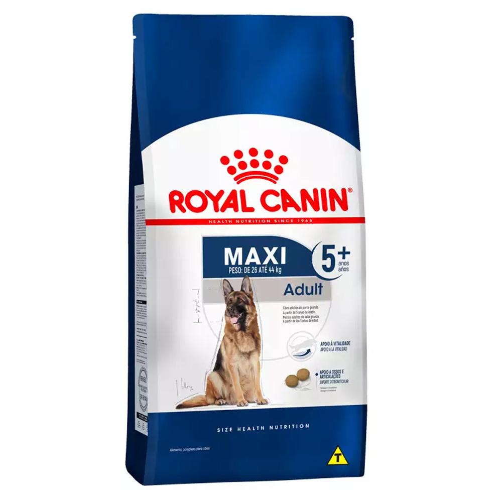 Ração Royal Canin Maxi 5+ Cães Adultos 15kg