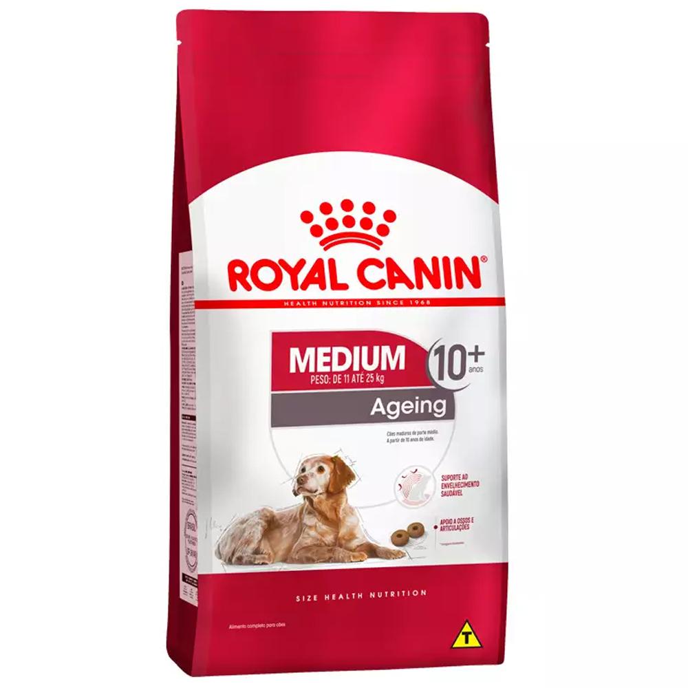 ROYAL CANIN MEDIUM AGEING 10+ ANOS 15KG
