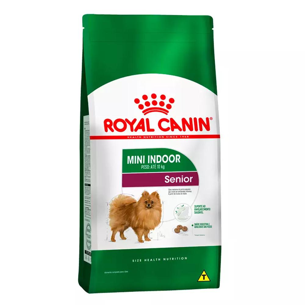 Ração Royal Canin Mini Indoor Cães Senior 7,5kg