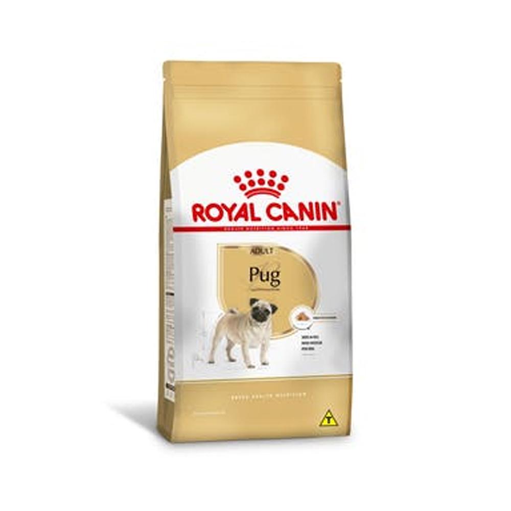 Ração Royal Canin Pug para Cães Adultos 1kg