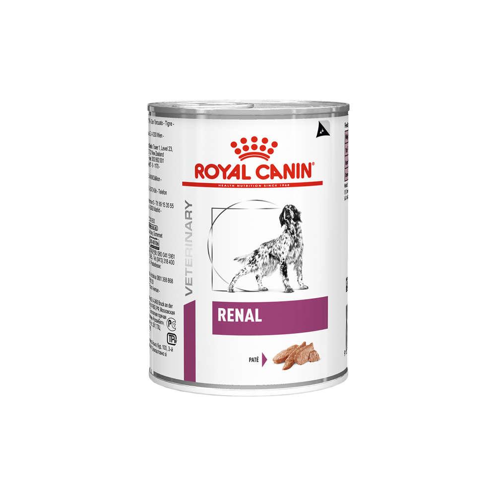 Ração Úmida Royal Canin Veterinary Renal para Cães Adultos 410g