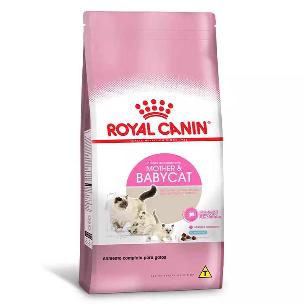 Ração Royal Canin Mother e Babycat para Gatos Filhotes 7,5kg