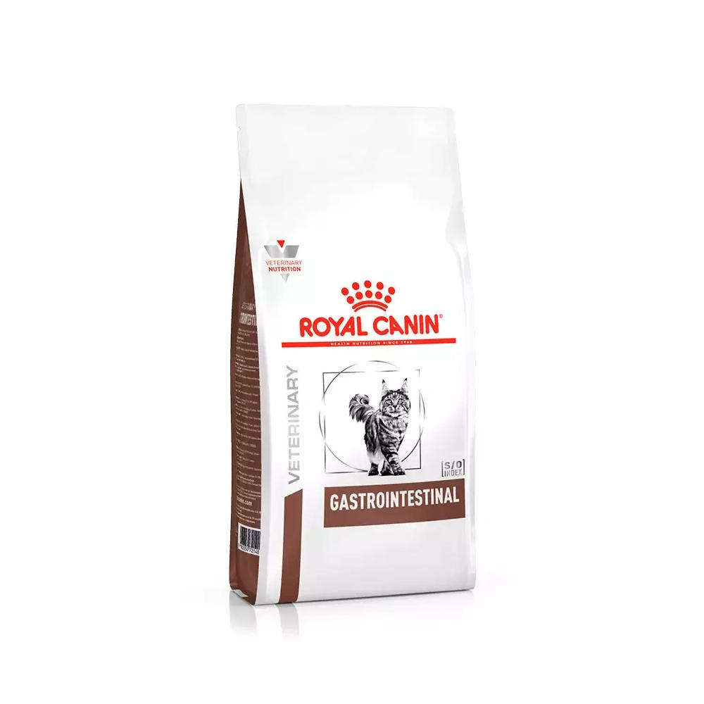 Ração Royal Canin Veterinary Gastrointestinal para Gatos Adultos 1,5kg