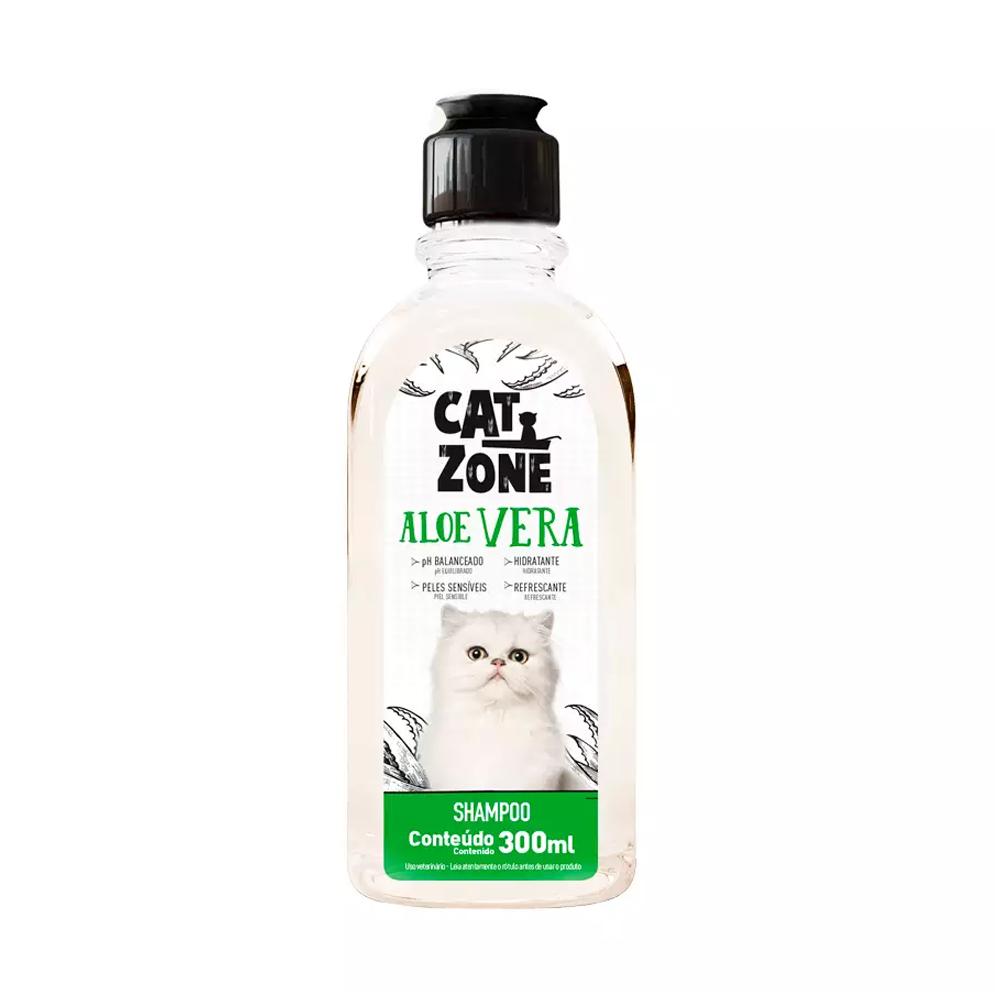 SHAMPOO ALOE VERA CAT ZONE 300ML