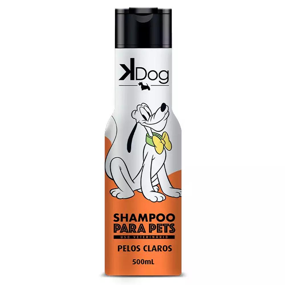 SHAMPOO K-DOG PELOS CLAROS 500ML