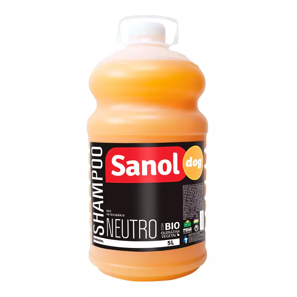 SHAMPOO SANOL NEUTRO 5L