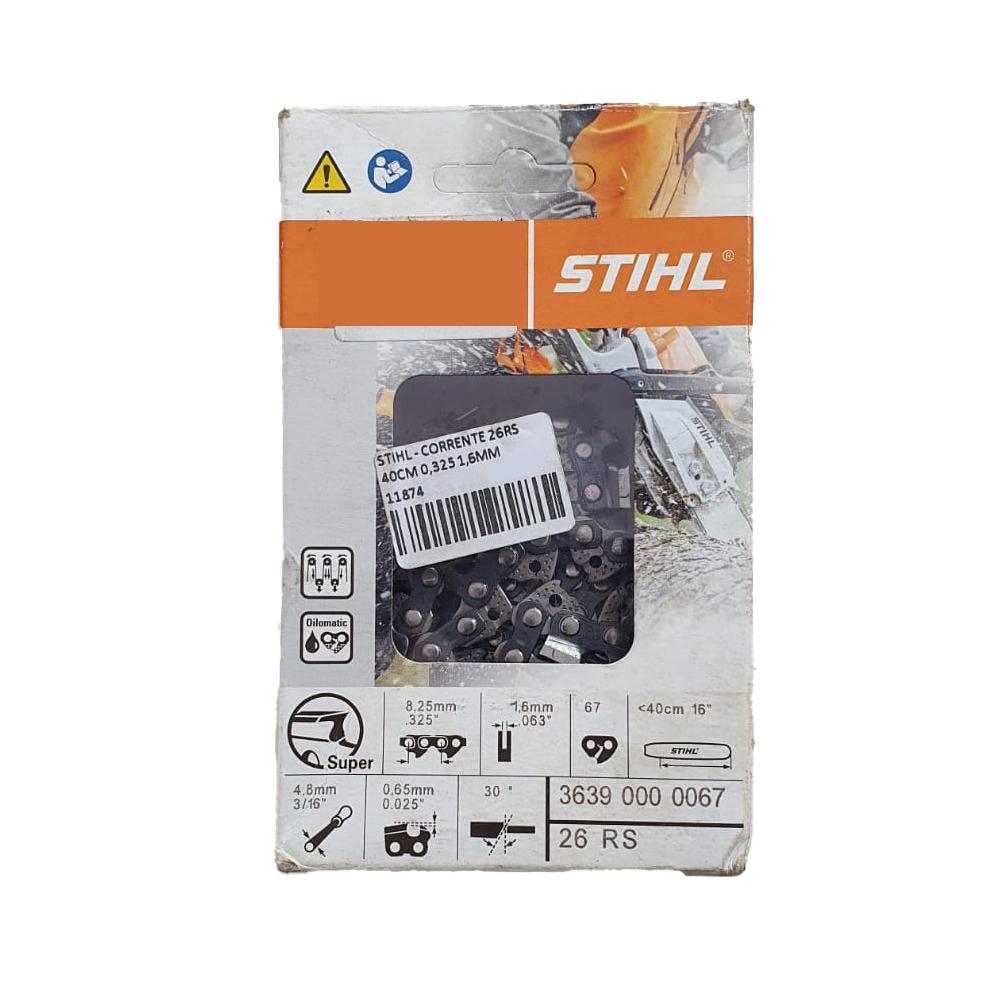 STIHL - CORRENTE 26RS 40CM 0,325 1,6MM