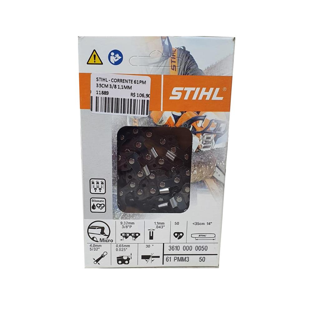 STIHL - CORRENTE 61PM 35CM 3/8 1,1MM