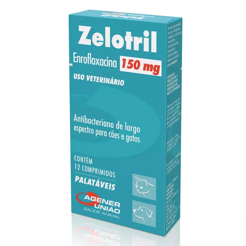 Zelotril 150mg 12 comprimidos