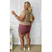 Blusa Plus Malha