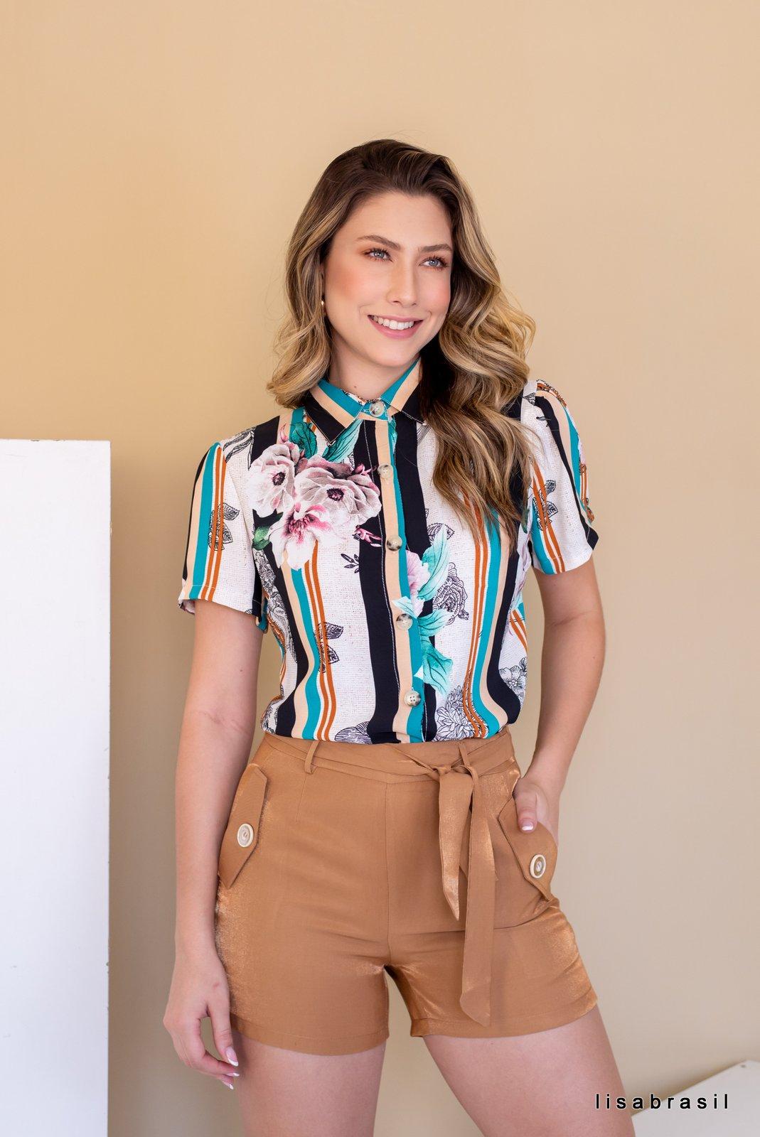 Camisa Marina