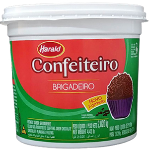BRIGADEIRO CONFEITEIRO HARALD 2,2 KG