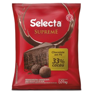 CHOCOLATE EM PÓ 33% SELECTA 1,010 KG