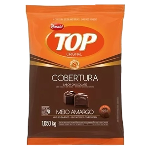 COBERTURA TOP GOTAS MEIO AMARGO 1,01KG HARALD