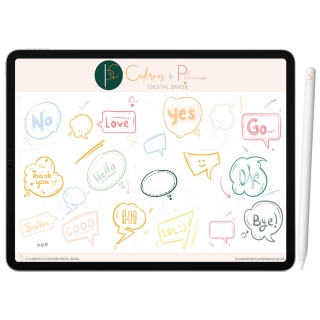 Adesivos Digital Colors Formas e Setas| Planner | Caderno | iPad Tablet | Download Instantâneo
