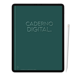 Caderno Digital Olive | Seis Divisórias Interativo| iPad Tablet | Download Instantâneo