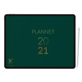 Planner Digital Anual | iPad Tablet | Download Instantâneo
