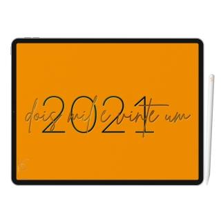 Planner Digital Anual, Mensal, Semanal, Diário | Soul Amarelo | iPad Tablet | Download Instantâneo