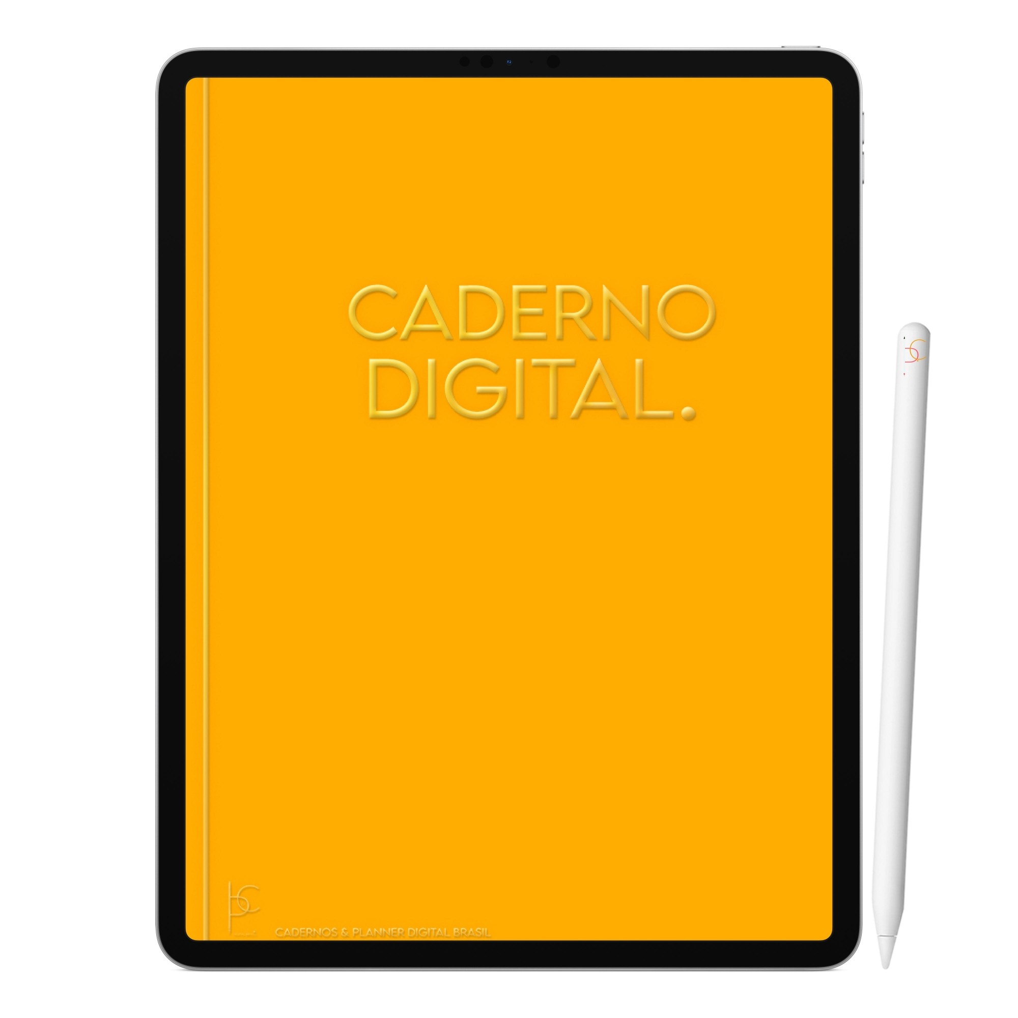 Caderno Digital Raios de Sol | Seis Divisórias Interativo| iPad Tablet | Download Instantâneo