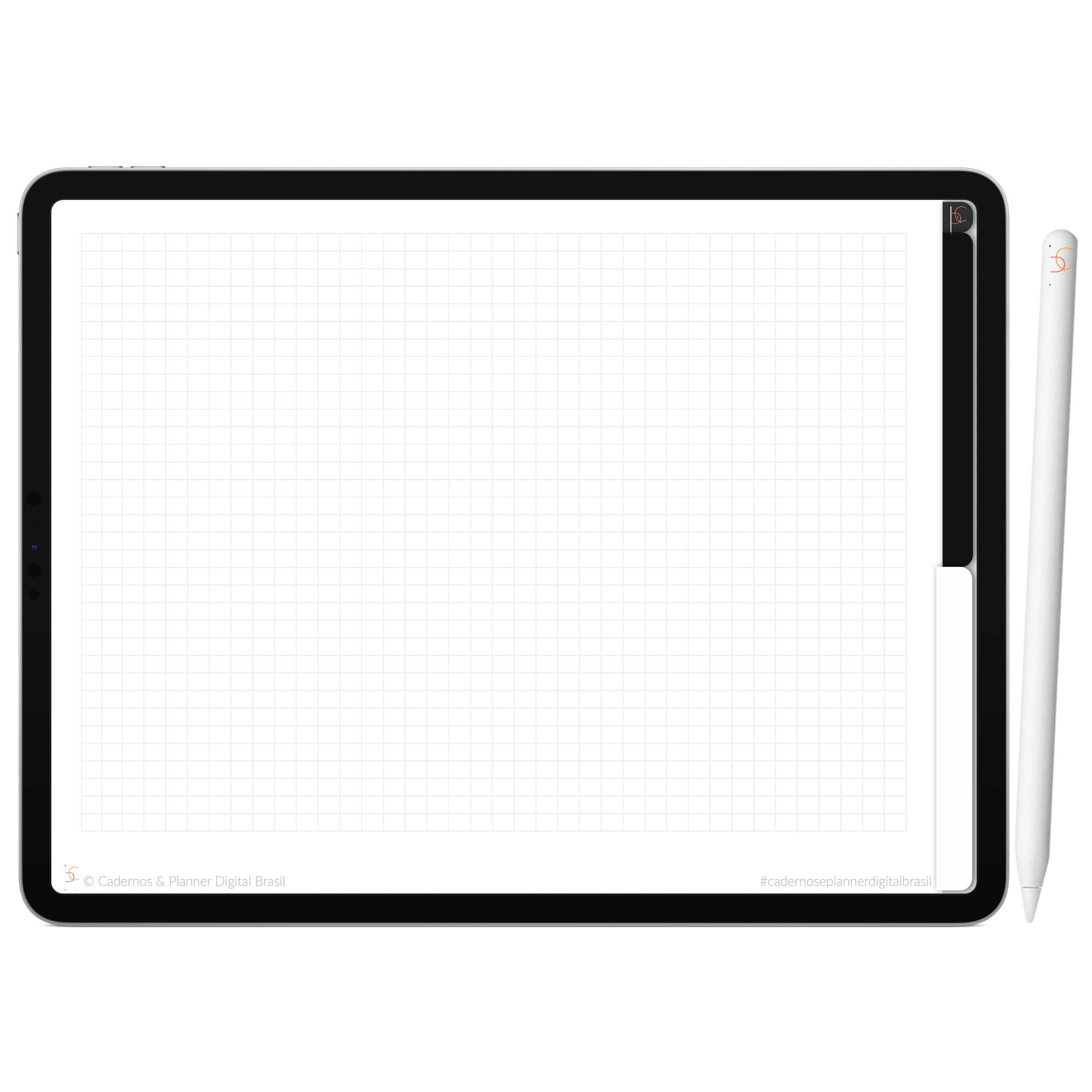 Mapa Mental Digital White Black | Duas Matérias Interativo| iPad Tablet | Download Instantâneo