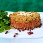 Quibe de Quinoa com Babaganoush