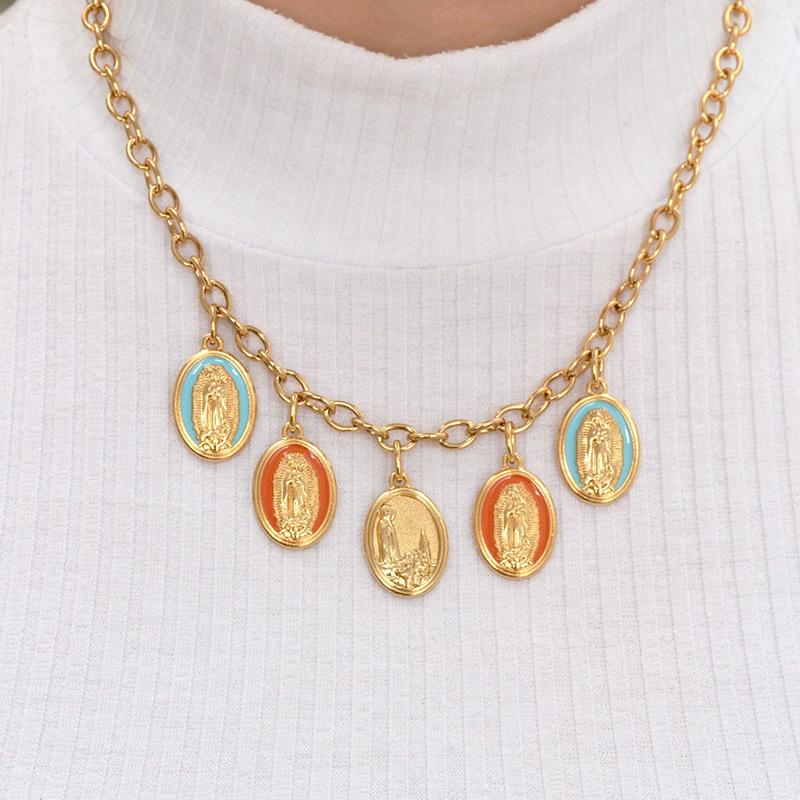 Colar com Medalhas Nossa Senhora