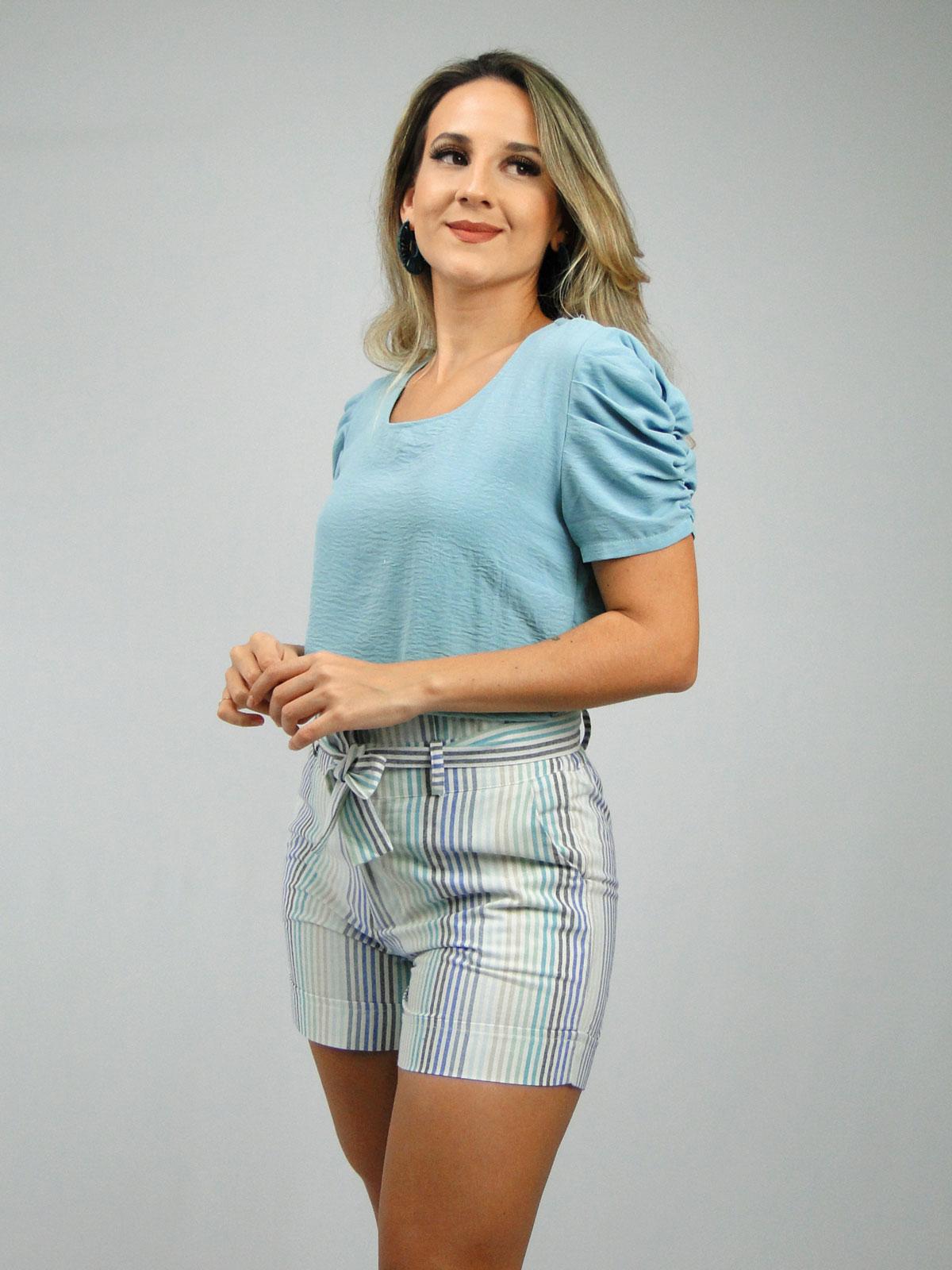 Blusa + Short + Colar