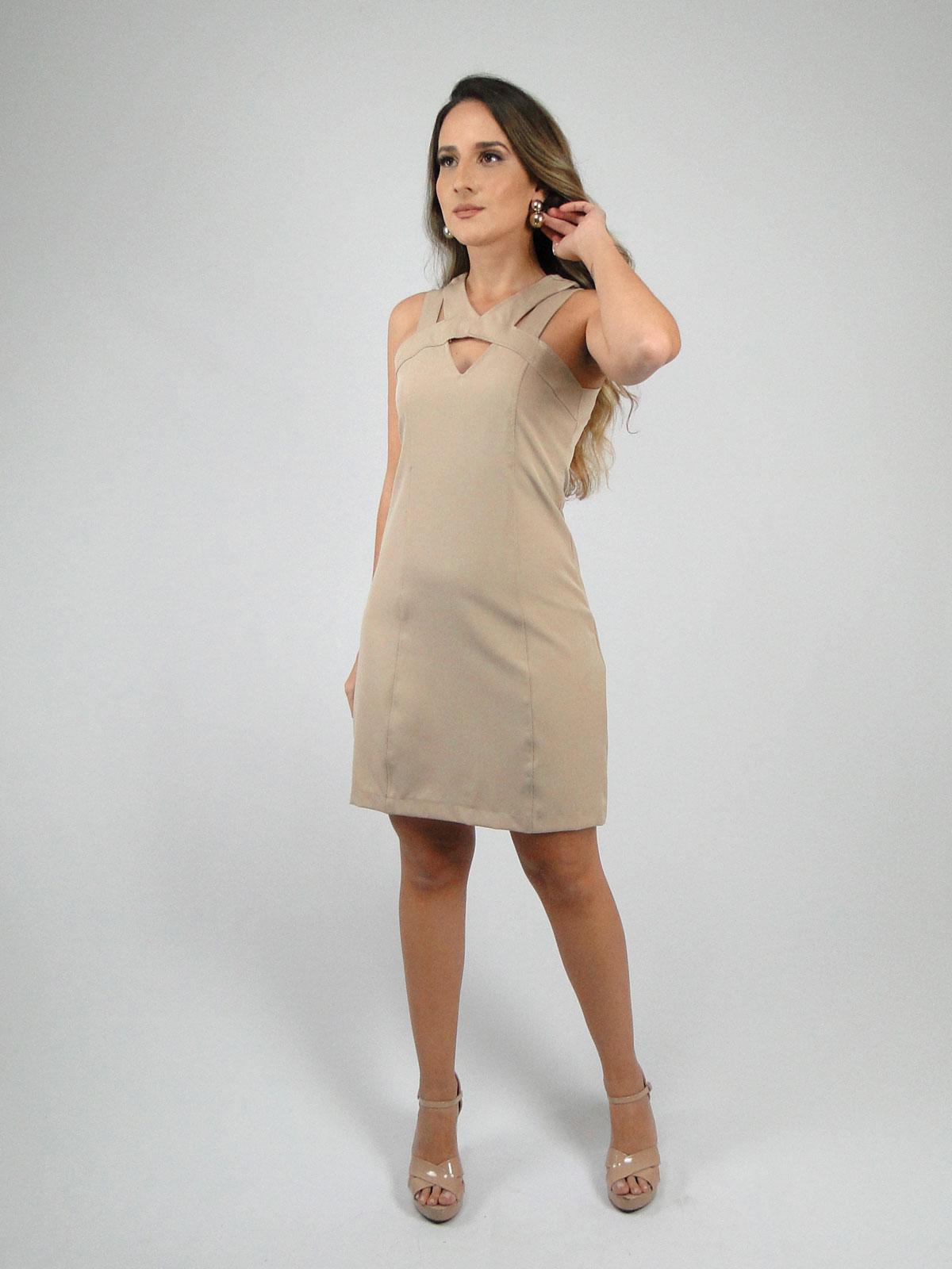 Vestido Alça Dupla