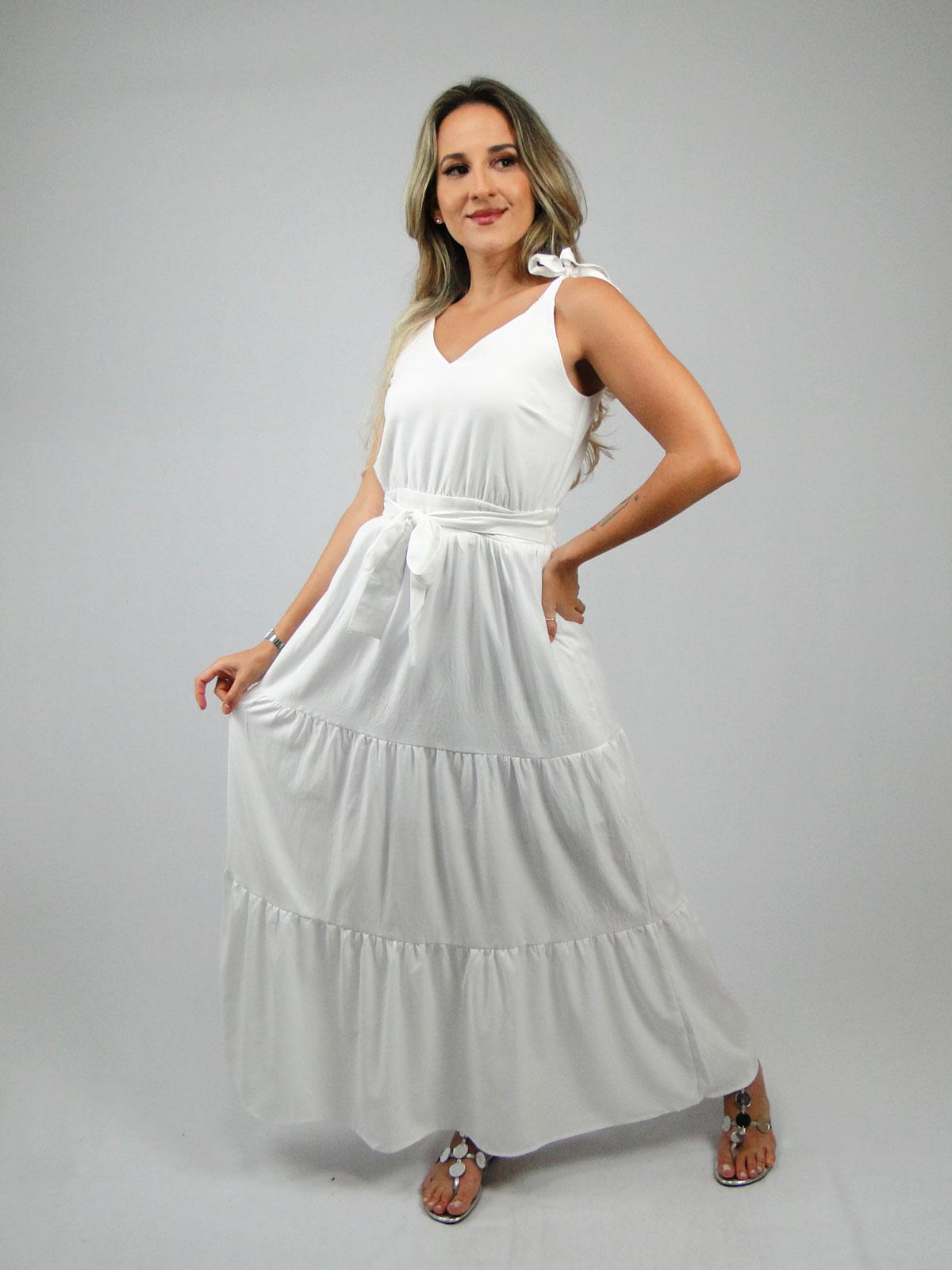 Vestido longo 3 Marias
