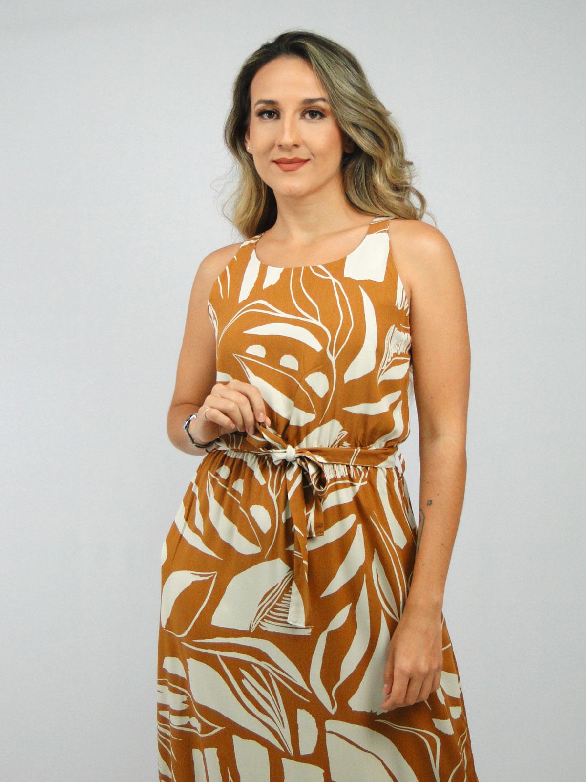 Vestido Longo Barra Franzida img2