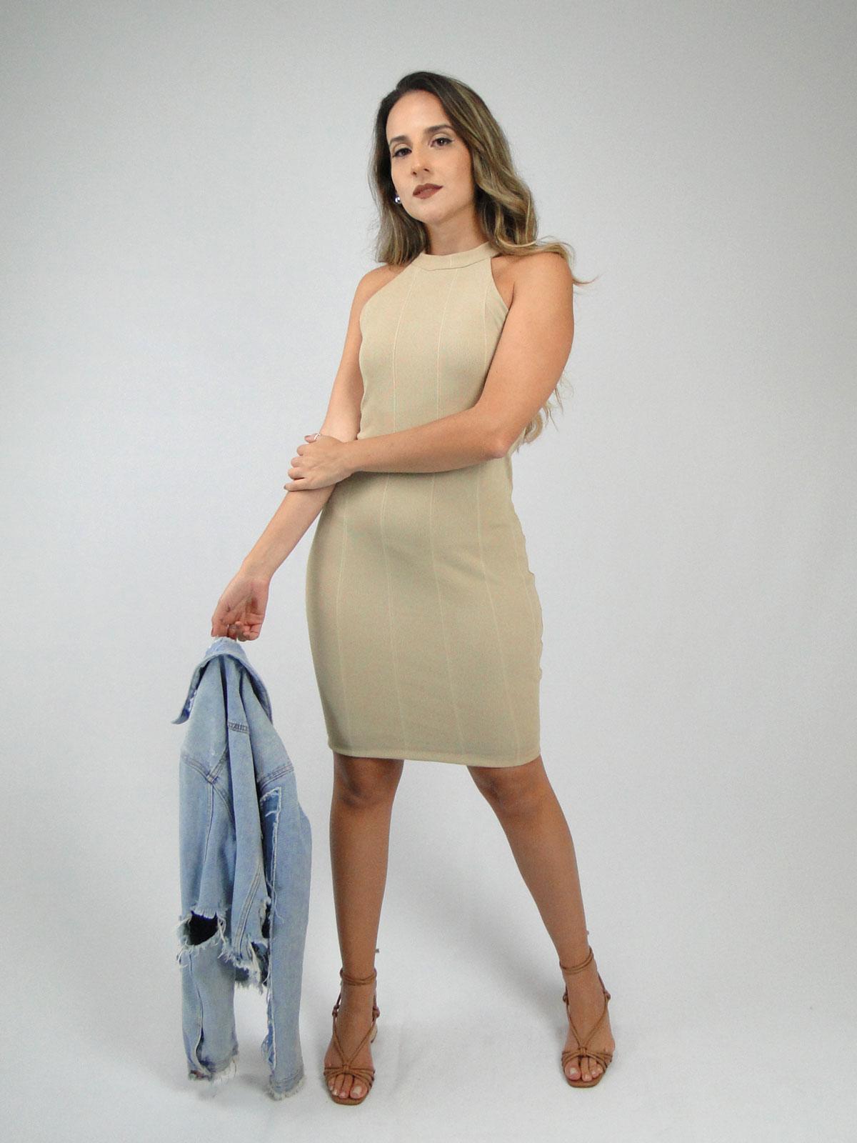 Vestido Ribana Tubinho