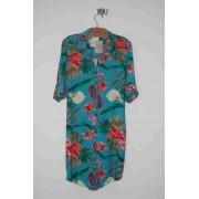 Vestido chemise viscose floral