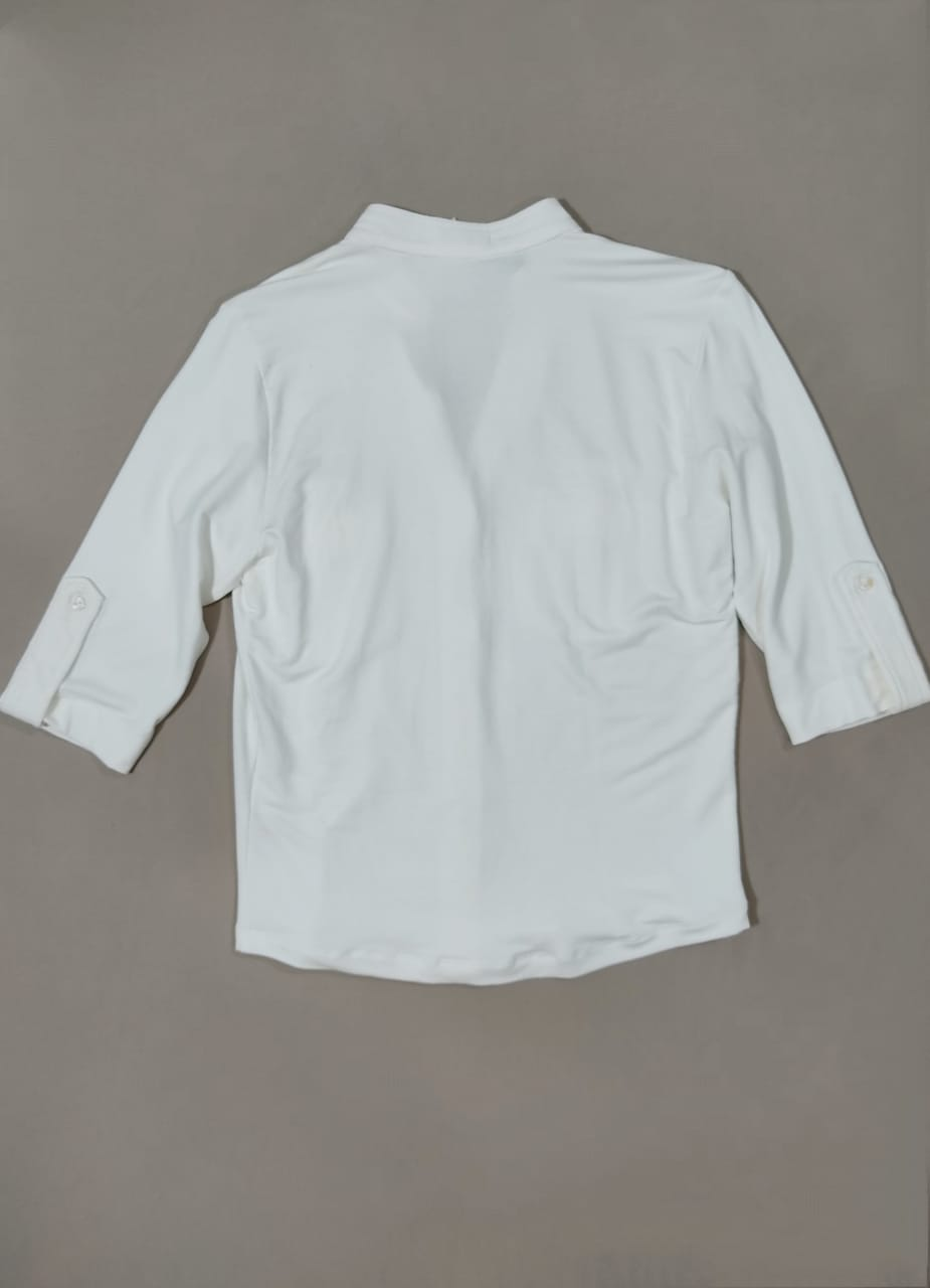 Blusa 2 bolsos