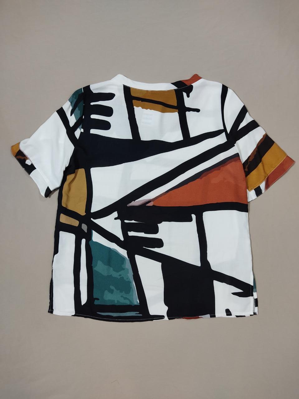 Blusa tecido Bolonha