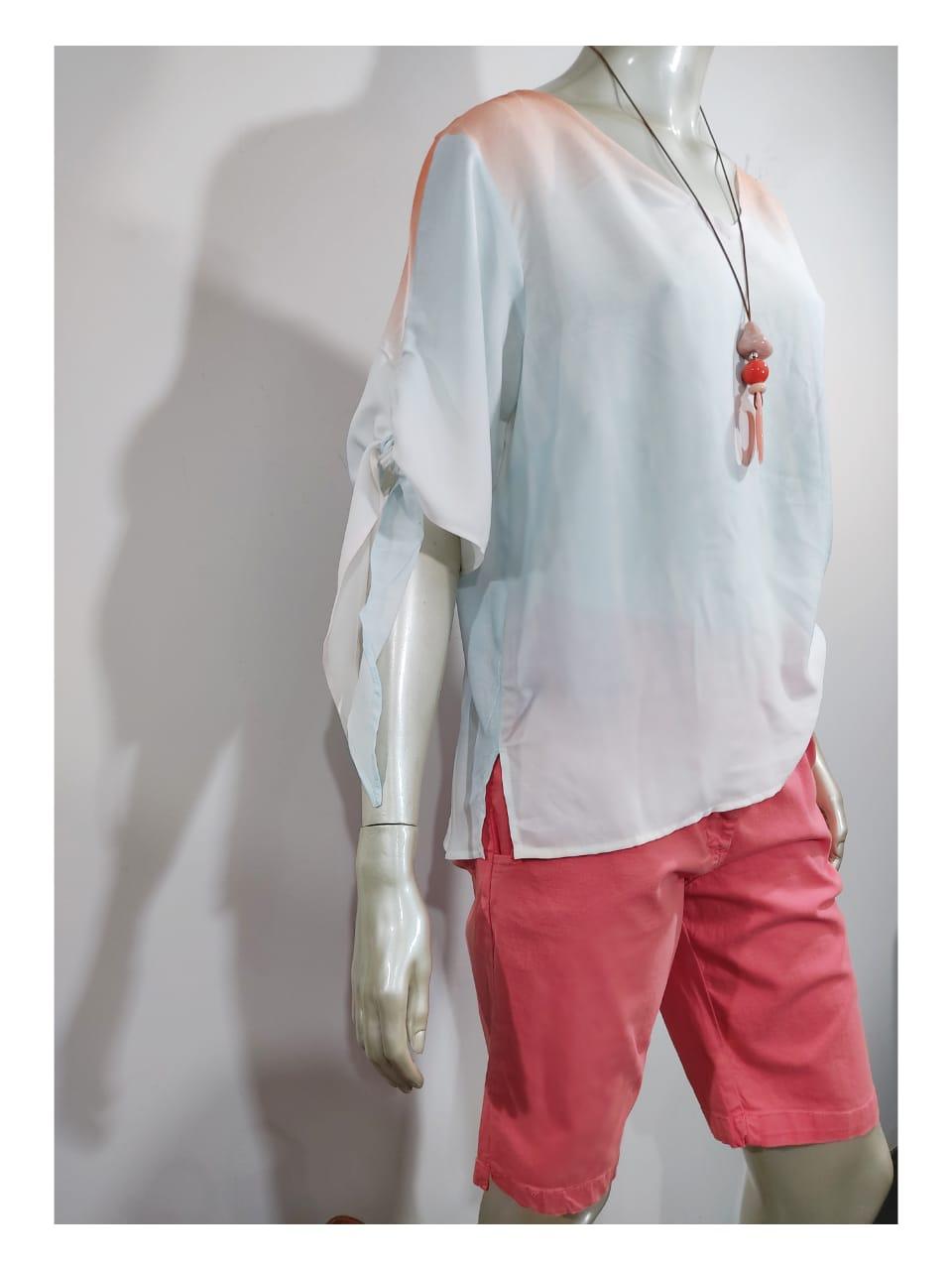 Blusa Viscose Tie dye