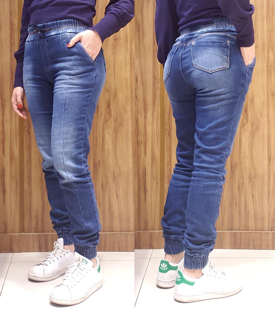 Calça jeans moletom stone
