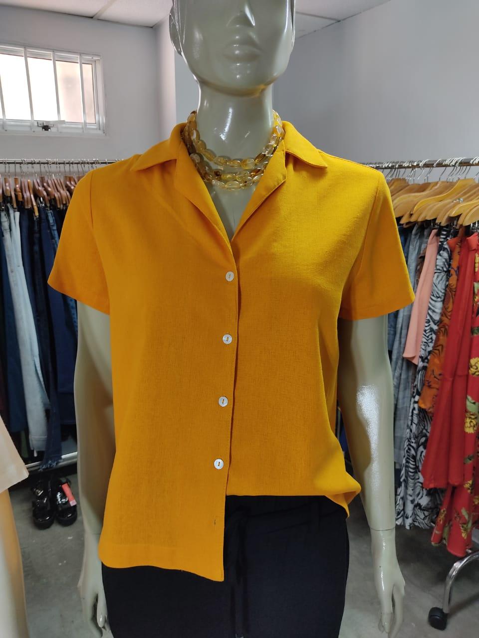 Camisa Box Linho